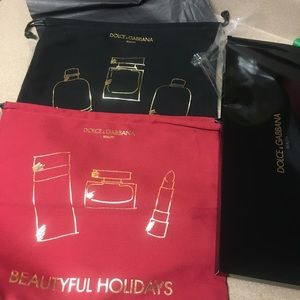 NWB! Dolce & Gabbana beauty holiday bag set
